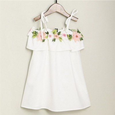 Mother and Daughter Dress Solid Fashion for Mommy and Me Clothes Family Look Matching Outfits