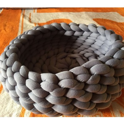 Super Thick Natural Wool Chunky Cotton Yarn DIY Bulky Arm Roving Knit Blanket Hand Knitting Spin Yarn