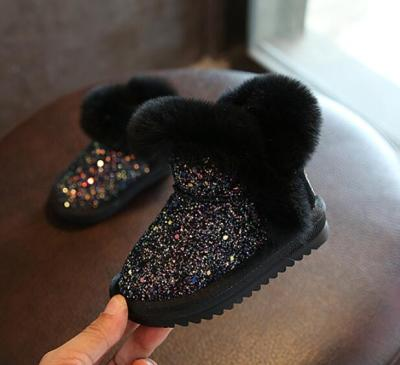 Winter Kids Fashion snow boots Child Leather warm baby girls boots winter boot for baby