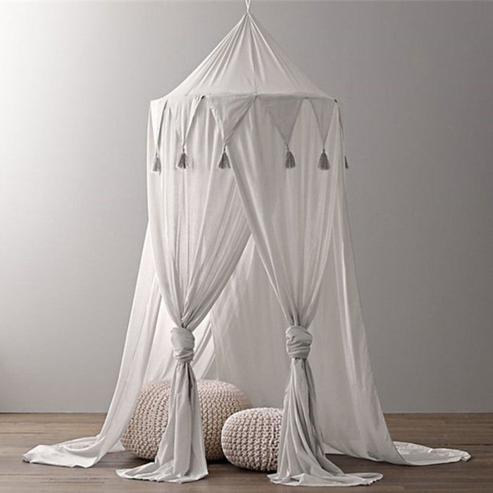 Child Baby Bed Canopy Netting Bedcover Mosquito Net Curtain Bedding Dome Tent