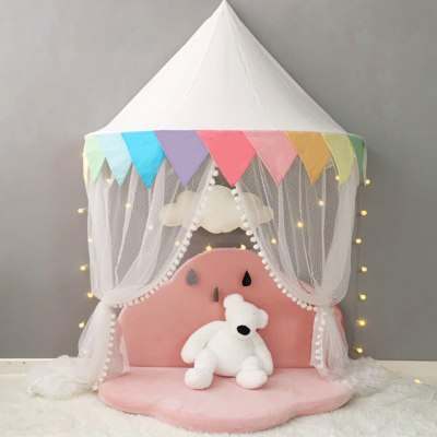 Baby Mosquito Net Bed Canopy Play Tent for Children Kids Bed Curtain for Bedroom Girl Princess Decoration