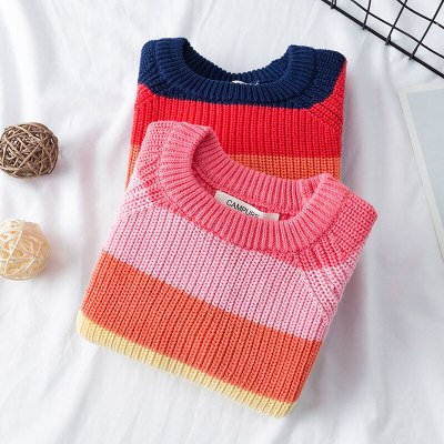 Girls Sweaters 1-7 Years Baby Sweaters Children Clothing Winter Sweater Tops