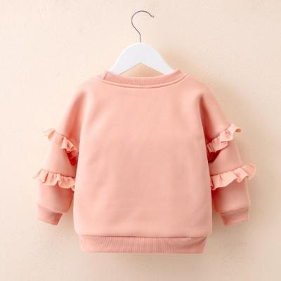 Baby Kids Girls Tops Pompon Clothes Long Sleeve Sweater Cashmere Coat Children Wool Coats
