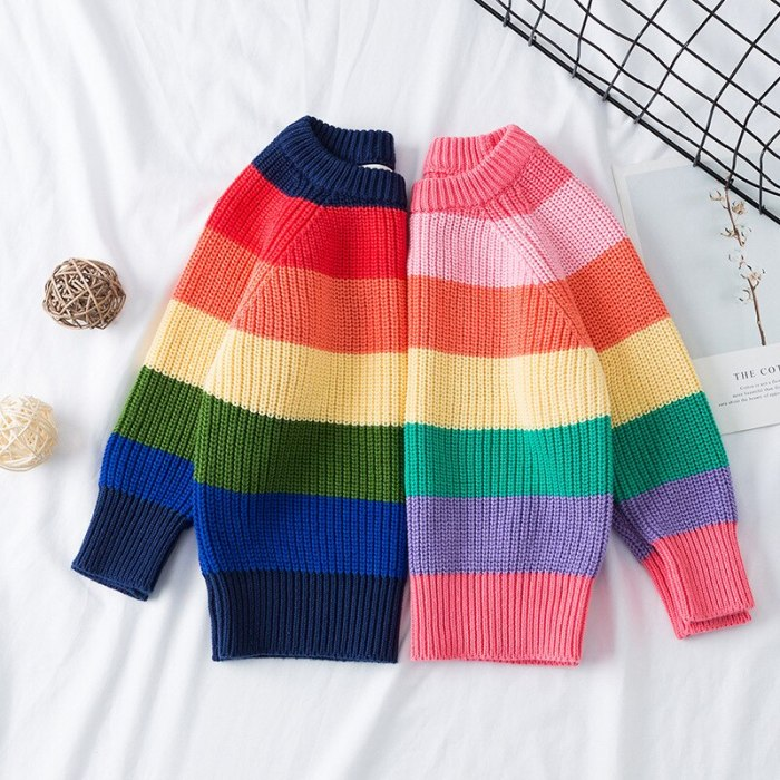 Girls Sweaters 1-7 Years Baby Sweaters Children Clothing Winter Sweater Tops