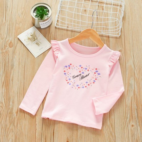 Baby cotton new kids girls bottom coats spring children's casual top