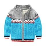 Children's boy clothing sweater thick cotton cardigan jacket