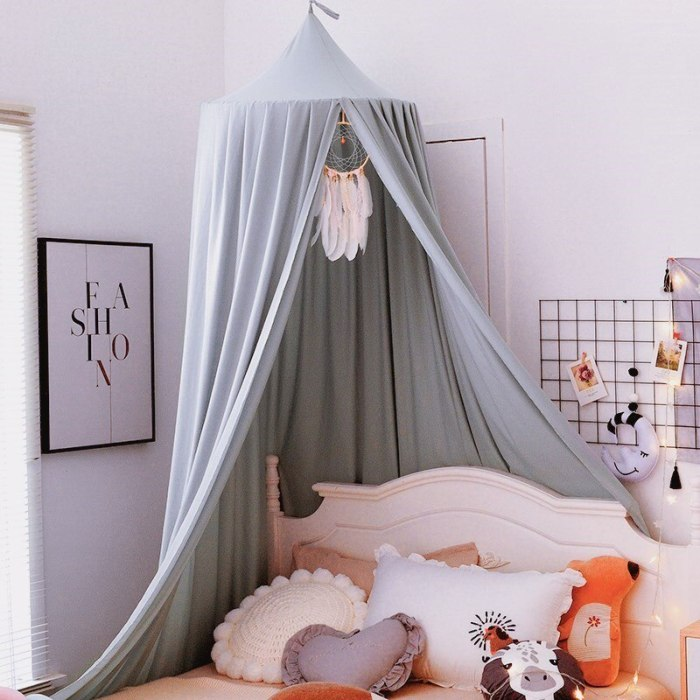 Baby Canopy Mosquito net Children Room Decoration Crib Netting Baby Tent Photography Props