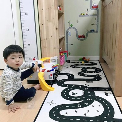 Kids Road Mat Carpet Room Baby Play Mat Floor Rugs Crawling Developing Mat Non-slip Nordic Decor