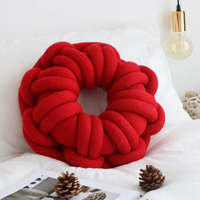 Round Knot Divan Chair Back Cushion Soft Baby Gift Toys Bed Couch Office Pillows home decorations
