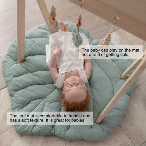 Kids Crawling Blanket Round Carpet Rug Toys Mat Cotton Room Decor Photo Props Cartoon Animals Baby Play Mat Pad