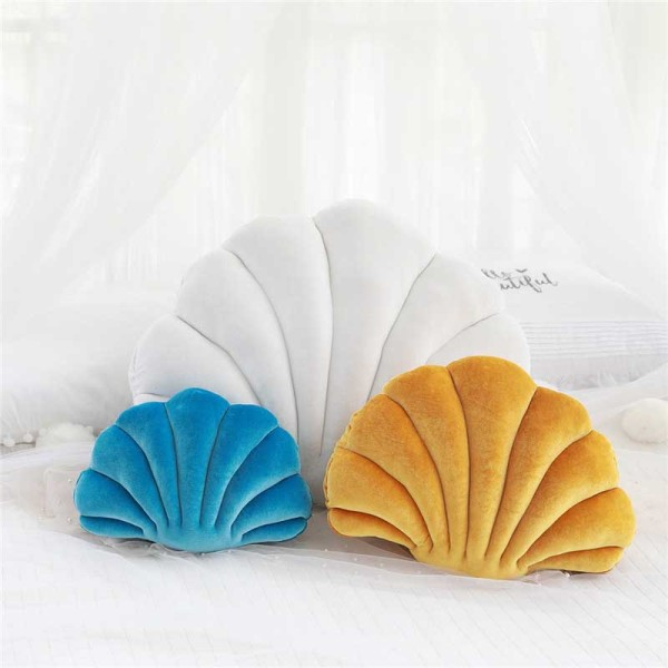 Sea Shell Plush Girls Stuffed Pillow Birthday Gift Dolls Baby Shower Party Present for Guest