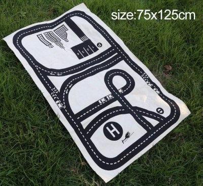 Baby Hopscotch Kids Activity Play Gym Game Mat Child Adventure Car Rug Kids Room Crawling Blanket