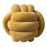 Home Decor Soft Knot String Pillow for Kids Backrest Chair Cushion Bed Couch Rest Cushions Photography Prop