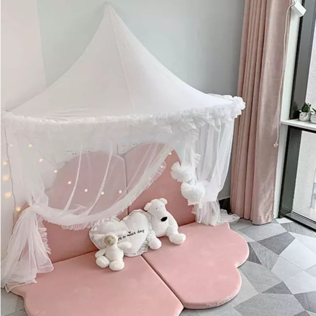 Baby Mosquito Net Crib Netting Canopy Bed Curtains Kids Play Tent House Baby Bedroom Decor