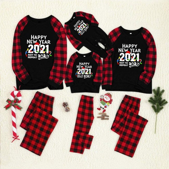 Matching Family Christmas Pajamas Set