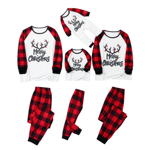 Family Matching Xmas Pajamas Set
