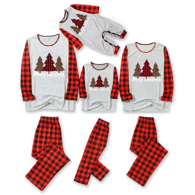 Xmas Family Matching Pajama Set Daddy Mommy And Kids Christmas Family Pajamas Matching Sleepwear Set