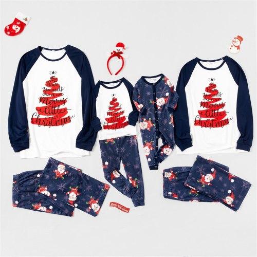 Family Matching Christmas Pajamas Adult Kids Cute Nightwear Pyjamas Family Matching Outfits Family  Sleepwear