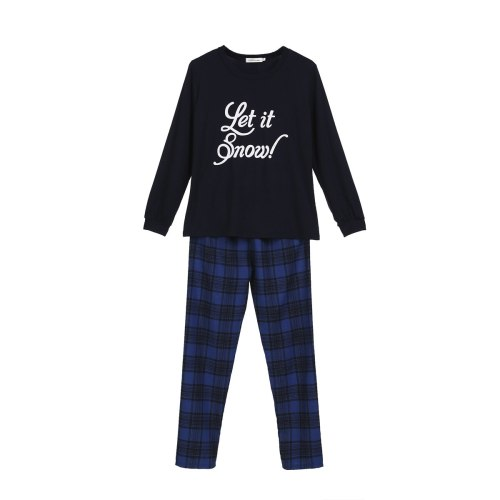 Plaid Matching Family Christmas Pajamas Set