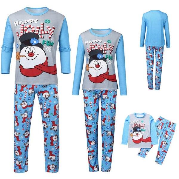 Family Christmas Matching Pajamas Set Letter Top Print Pants Xmas Family Clothes Pajamas Family