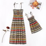 Mommy and Me matching dresses Bohemian Style Matching Sleeveless Dresses Matching Outfits