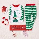Family Christmas Pajamas Set Fashion Print Women Children Christmas Family Matching Clothes Family Sleepwear