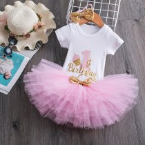 First Christmas New Year Costume Infant Girls Birthday Outfits 1 Year Old Baby Girls Dresses