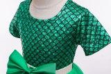 Mermaid Scale Girls Princess dress Costume tutu dresses