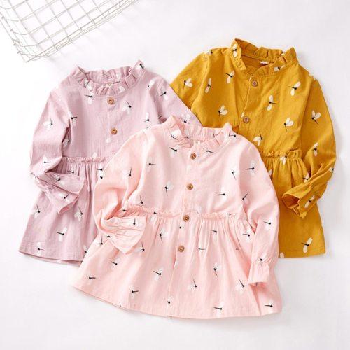 Kids Baby Girls Ruched Princess Dresses