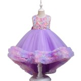 Girl's Princess Flower Dress Sleeveless Costume