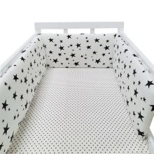 Baby Crib Bumper Cotton Bed Cot Protector 1Pcs