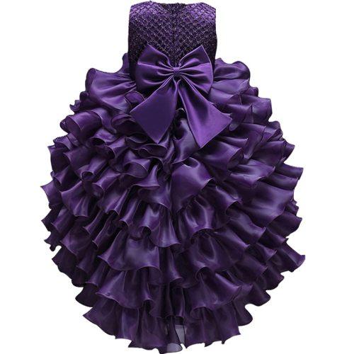 Girls princess Dress kids Wedding Party Ball Gown Costumes