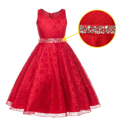 Girls sequins Princess Dresses for Party Christmas