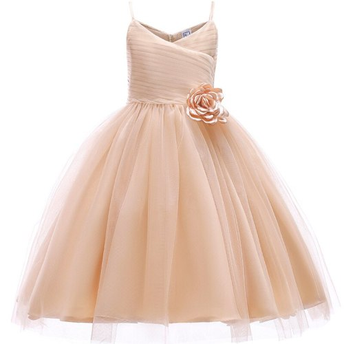Baby girls Vintage Sleeveless Flower dresses