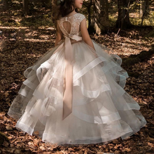 Flower Girl Dress Pageant Gowns For Girls
