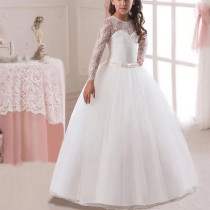 Flower Girl dress for wedding pageant ball gown