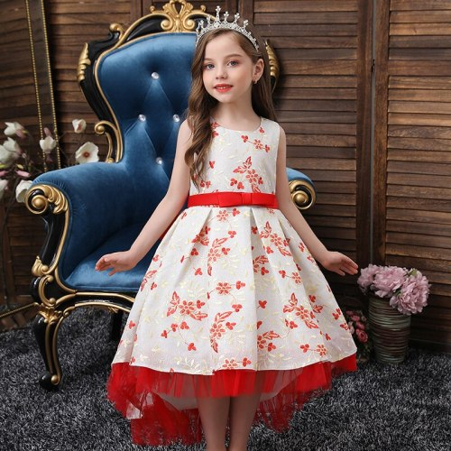 Baby Girls Dresses Wedding Party Children Clothes Birthday Clothing