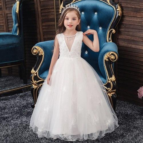 Girls Princess Dress Evening Long Dress