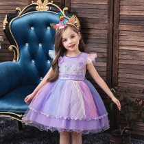 Princess Kids Clothes Children Birthday Party Dress