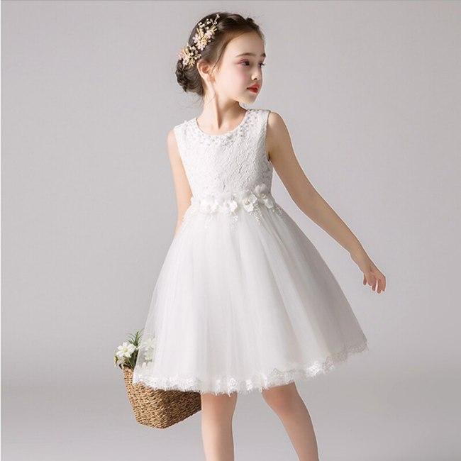 Party Dresses Beading Flower Girl Dress for Wedding