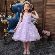 Girls Dresses Kids Clothes Wedding Events Dress Children Clothing
