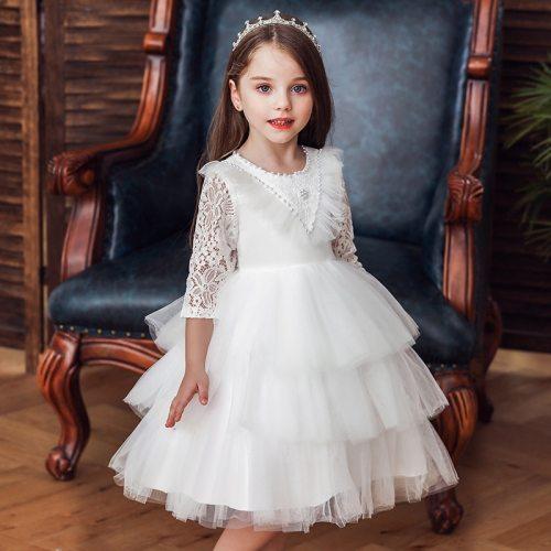 Kids Dresses For Girls Costume Bridesmaid Christmas Dress