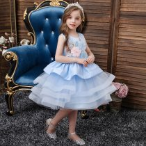 Girls Dresses Kids Clothes Wedding Events Flower Girl Dress