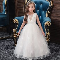 Girls Princess Dress Evening Long Dress
