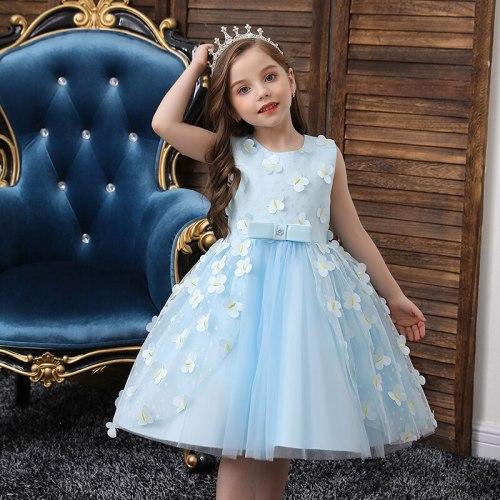 Princess Flower Girl Dress Wedding Birthday Party Kids Dresses