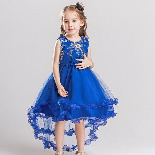 Princess Flower Girl Dress Tutu Wedding Birthday Party Dresses