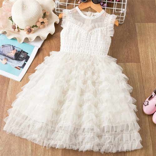 Girls Birthday Party Dress For 3-8 Years