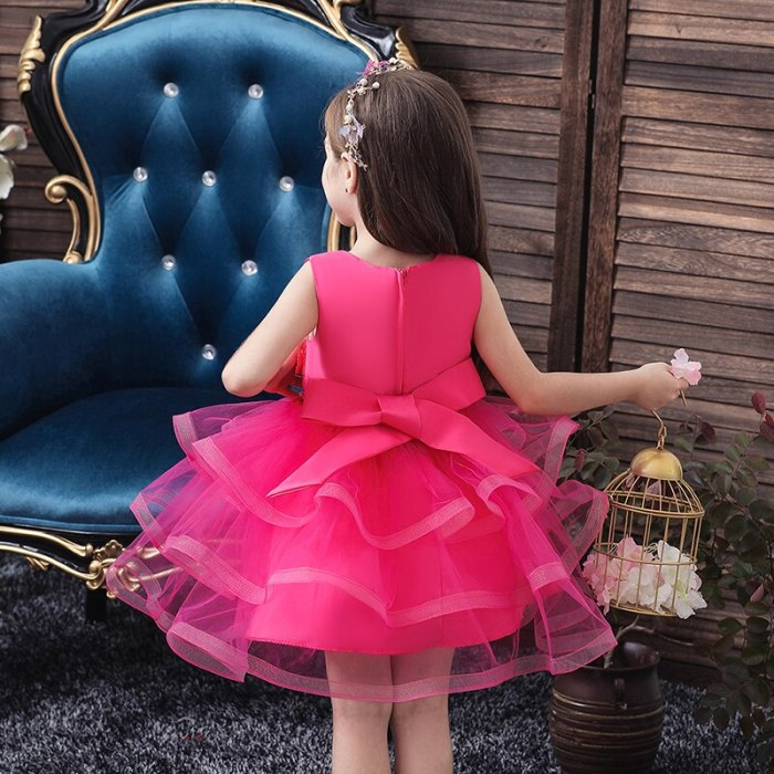 Princess Flower Girl Dress Wedding Party Dresses