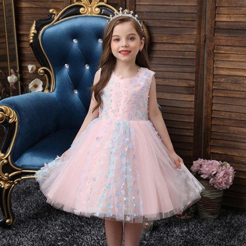 Flower Girls Dresses Kids Formal Evening Wedding Princess Dress