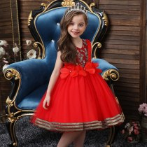 Princess Flower Girl Dress Wedding Birthday Party Dresses